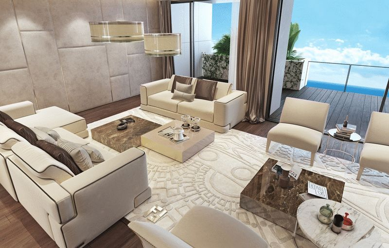 Luxury 4 Bed Penthouse 300m from the Beach properties for sale in cyprus