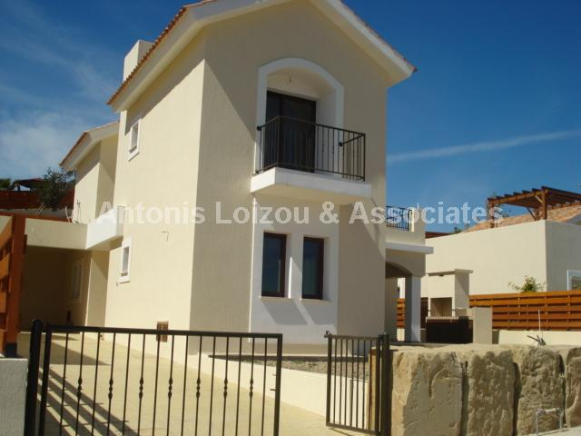 Three Bedroom Detached House With Pool properties for sale in cyprus