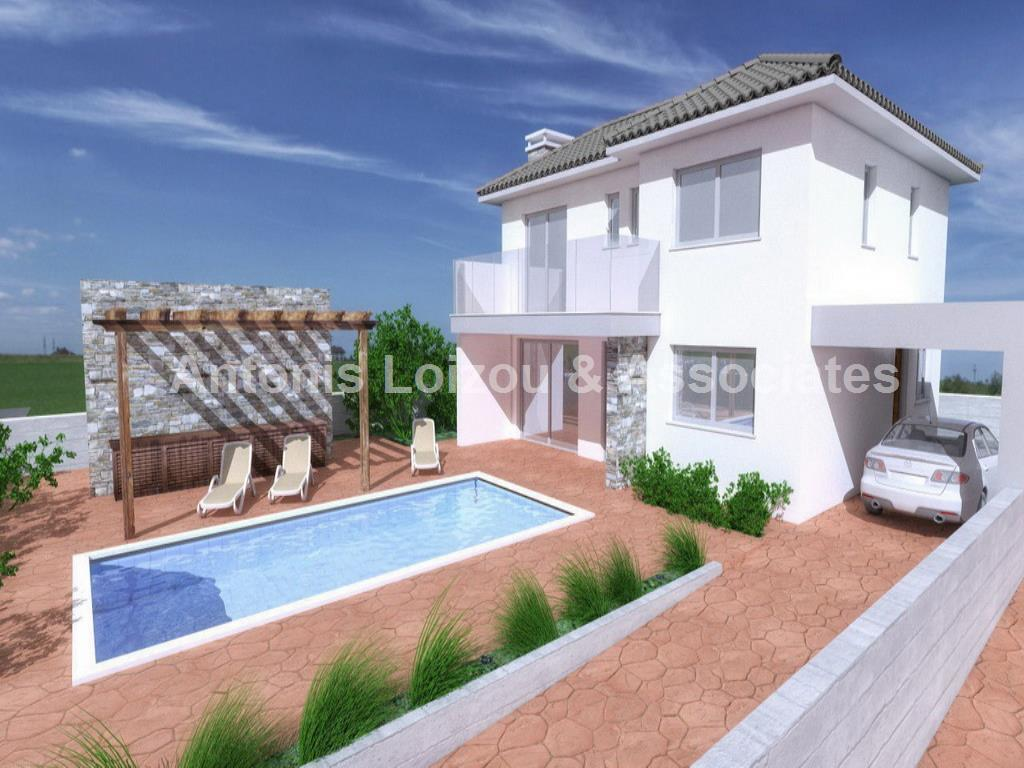 Three Bedroom Detached House in Moni properties for sale in cyprus