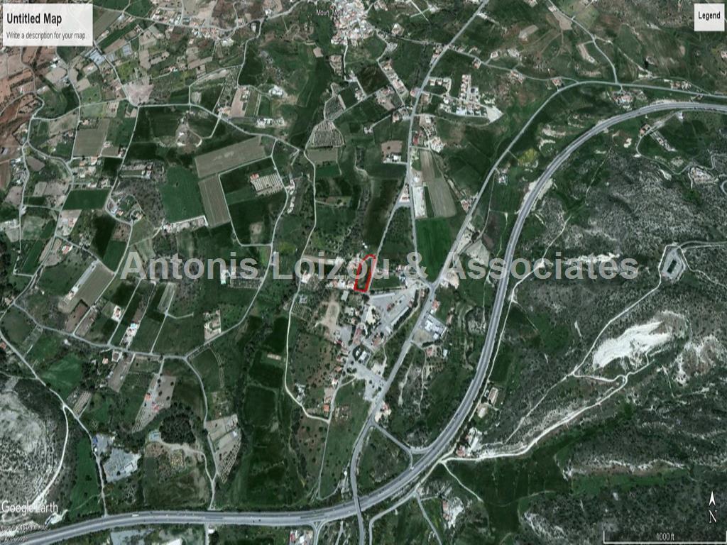 Building Plot In Moni properties for sale in cyprus