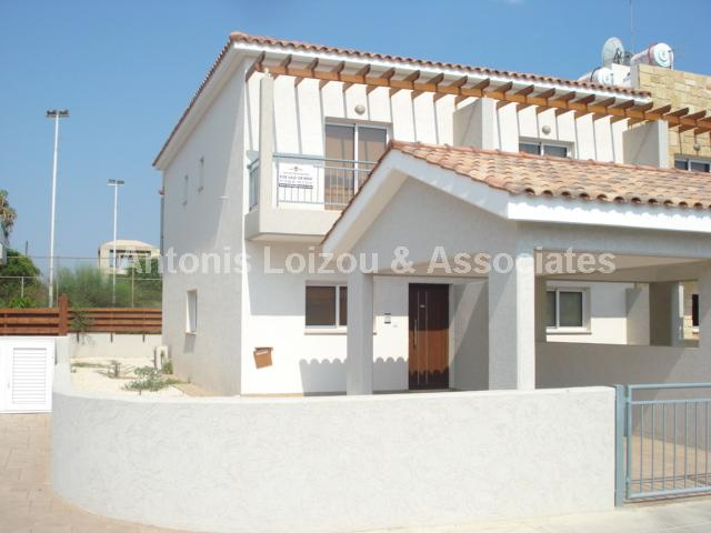 Semi House in Limassol (Moutagiaka) for sale