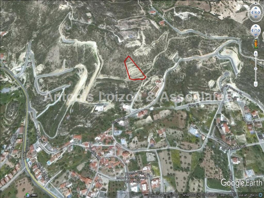 Field in Limassol (Palodia) for sale