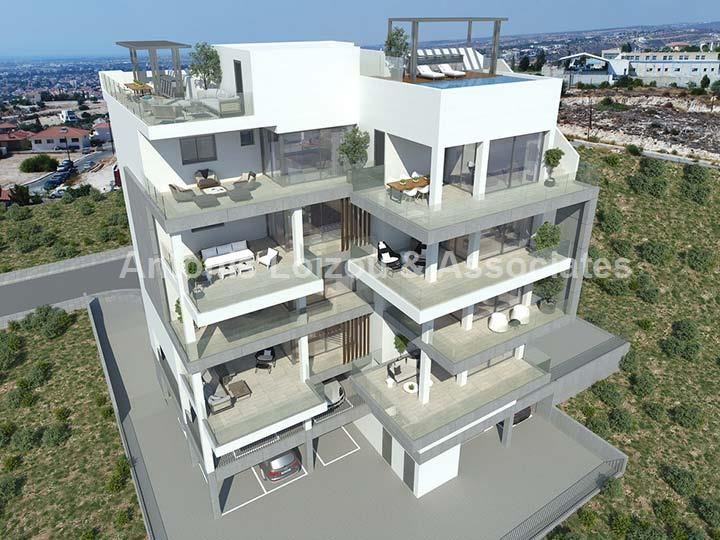 Two Bedroom Luxury Apartment with Amazing Views properties for sale in cyprus