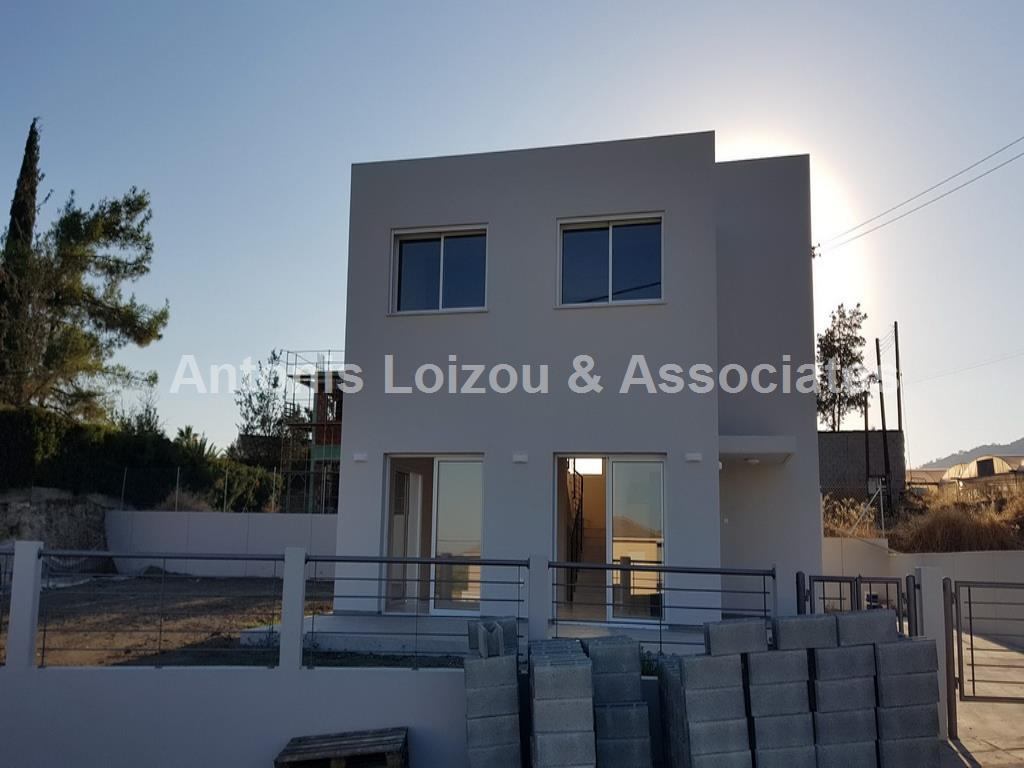 Three Bedroom Brand New House in Pareklisia properties for sale in cyprus