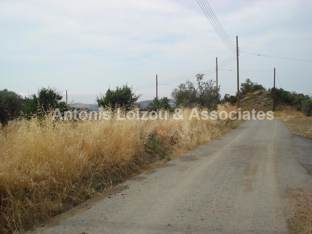 Field in Limassol (Pareklisia) for sale