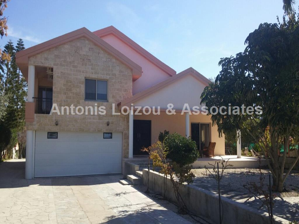Detached House in Limassol (Pareklisia) for sale