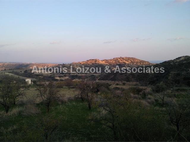 Land in Limassol (Pissouri) for sale