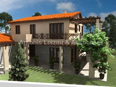 Three Bedroom Detached Villas with Private Pool properties for sale in cyprus