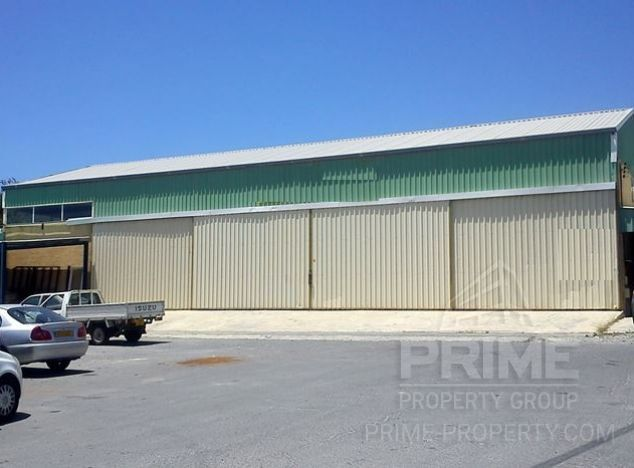 Industrial estate in Limassol (Polemidia) for sale