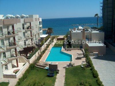 One bedroom Luxury Beach Front Apartment - Reduced. properties for sale in cyprus