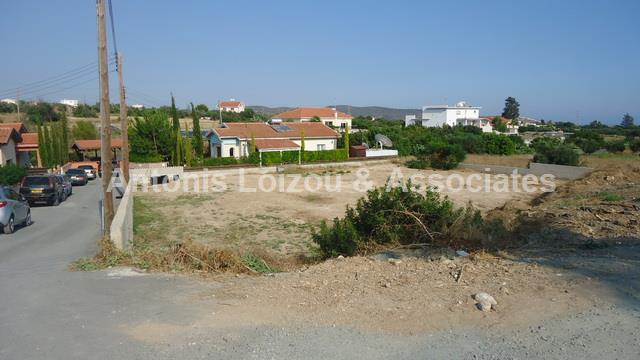 Land in Limassol (Pyrgos) for sale