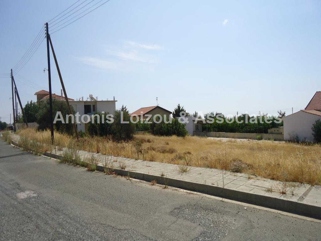 Land in Limassol (Souni) for sale