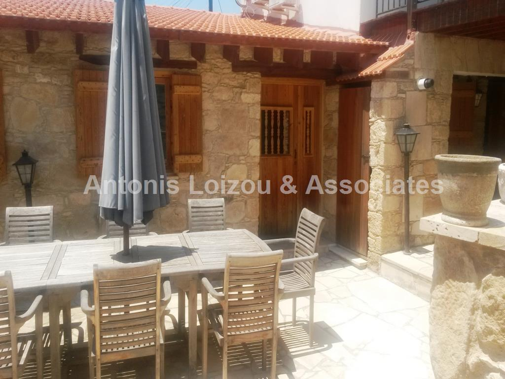 Traditional Hous in Limassol (Spitali) for sale
