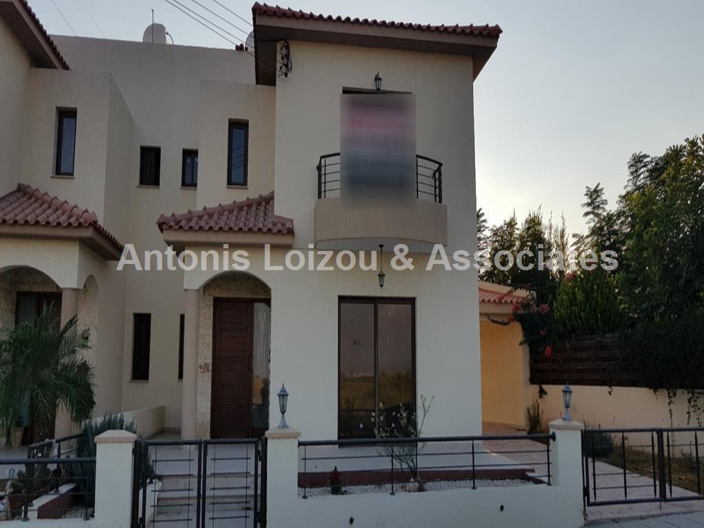 Semi detached House in Limassol (Trachoni) for sale