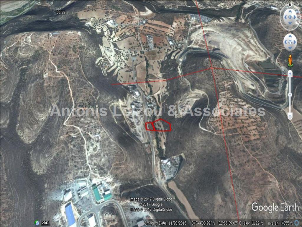 Land in Limassol (Ypsonas ) for sale