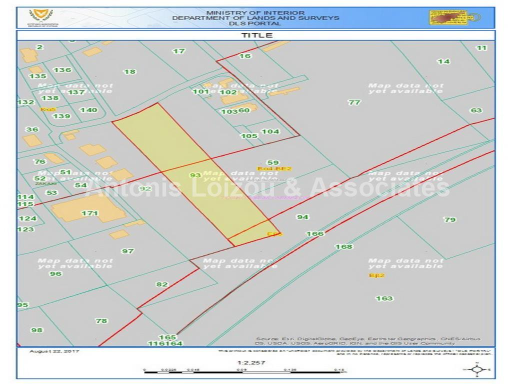 Residential/Commercial/Industrial Plot properties for sale in cyprus