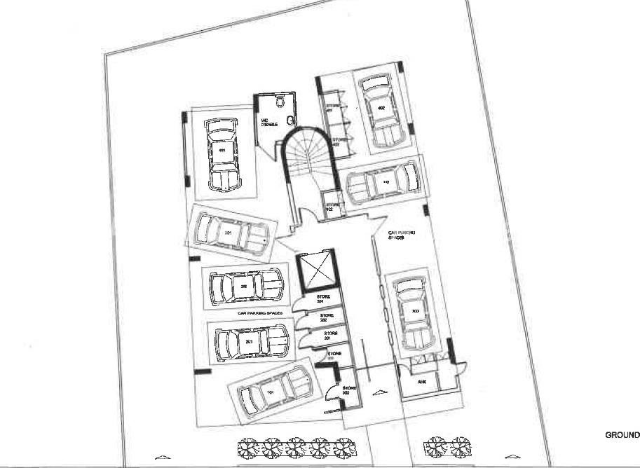 Residential Block (8 apartments of two bedroom each 932m²  build properties for sale in cyprus