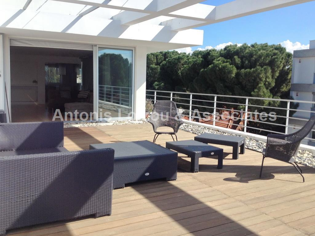 3 Bedroom Penthouse apartment with large verandah near the Russi properties for sale in cyprus
