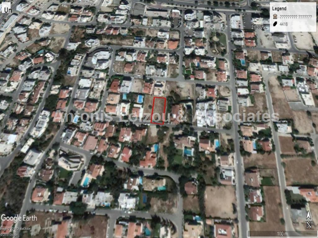 1027m² Residential Plot in Engomi (Makedonitissa) properties for sale in cyprus