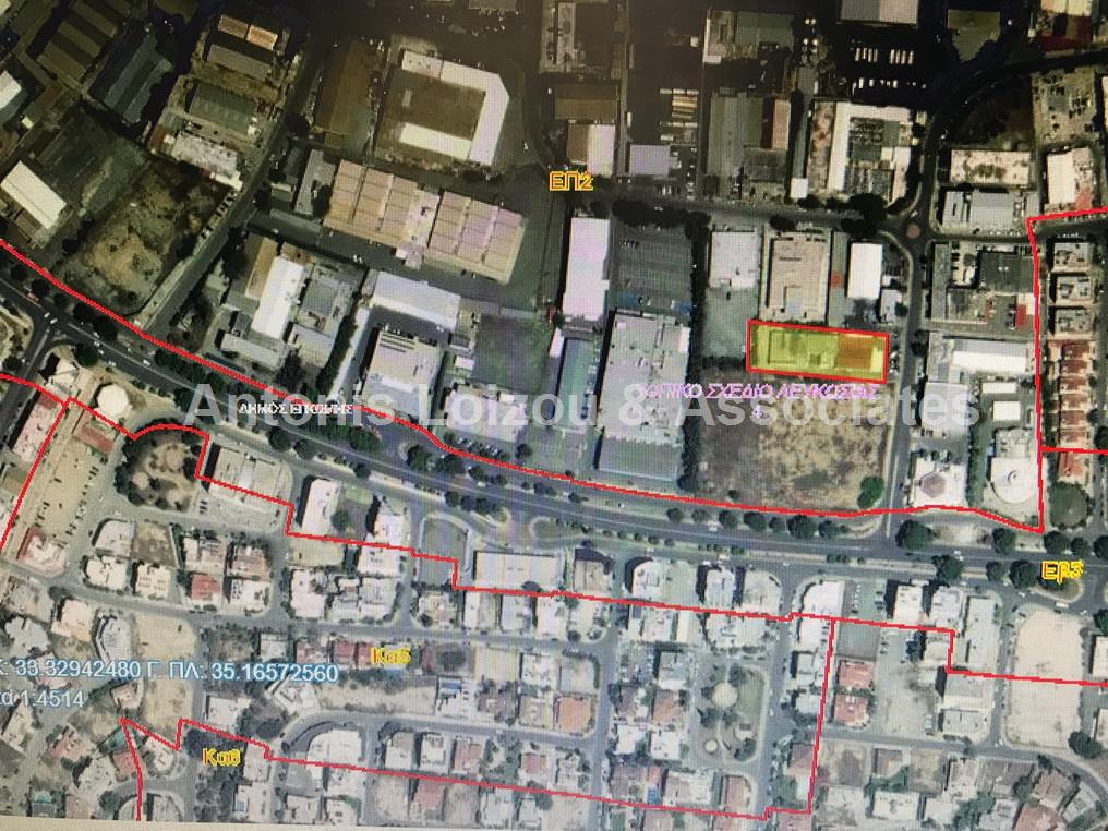 2,184m² Commercial Plot in Engomi properties for sale in cyprus
