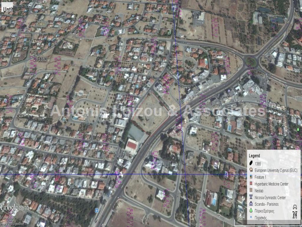 Field in Nicosia (Engomi) for sale