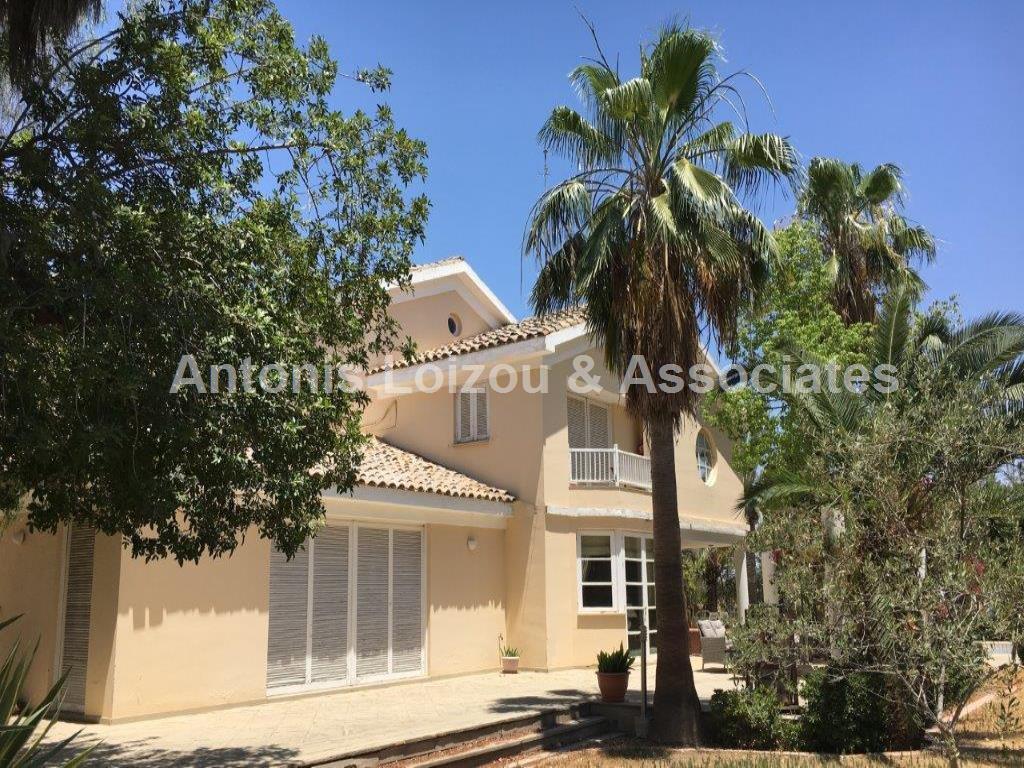 4 Bedroom Detached Villa near Laiki Sporting club properties for sale in cyprus
