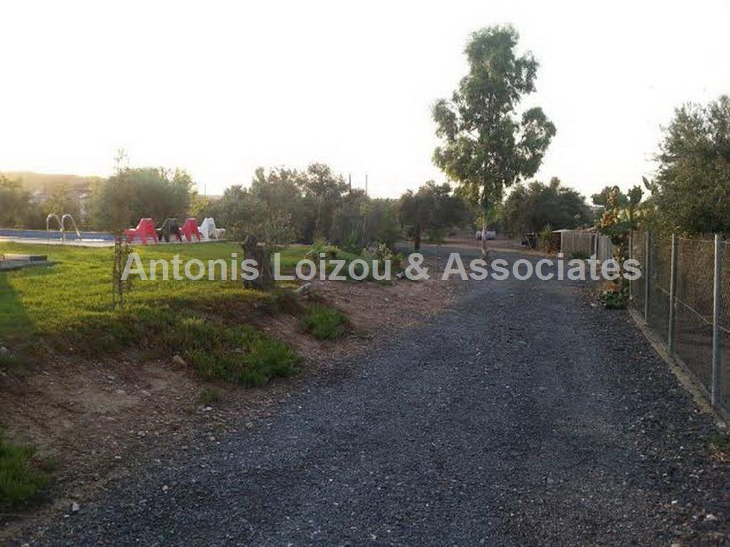 4 Bedroom Bungalow House built in 5519m²  plot properties for sale in cyprus