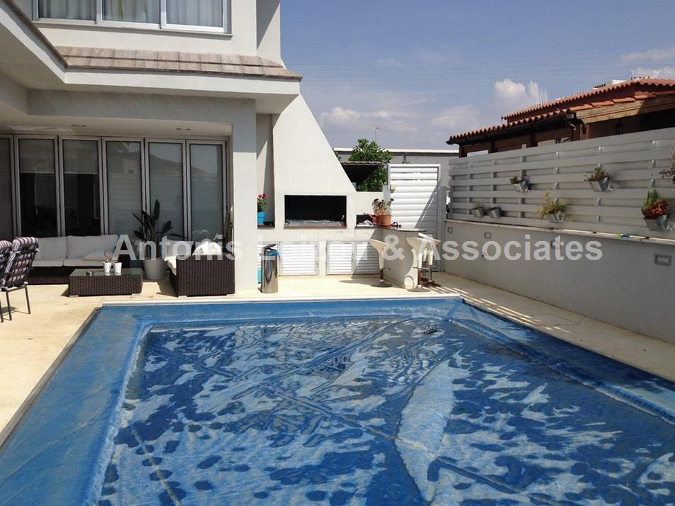 Detached house with s/pool in Lakatamia properties for sale in cyprus