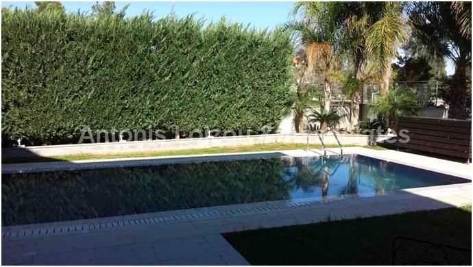 Detached House with s/pool, 4 beds + maid's room properties for sale in cyprus