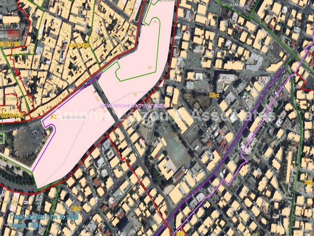 1190m² Commercial Plot in Nicosia Centre properties for sale in cyprus