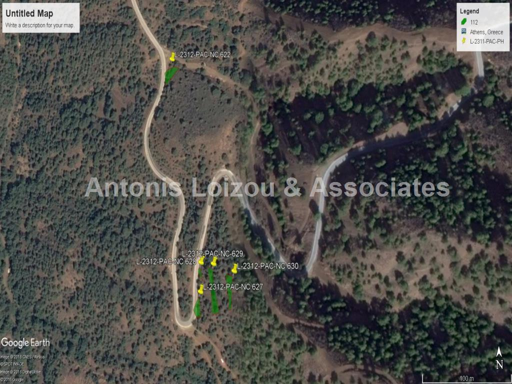 5 Agricultural fields Pachyammos with panoramic sea view properties for sale in cyprus