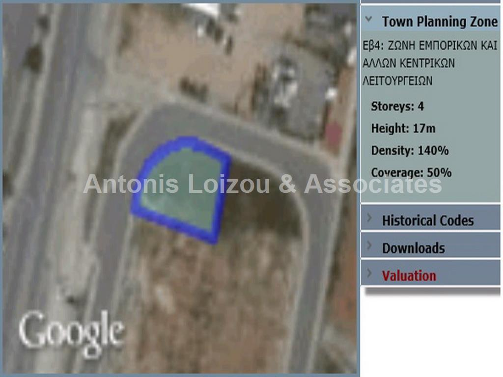551m² Commercial Plot in Strovolos - Stavrou area properties for sale in cyprus