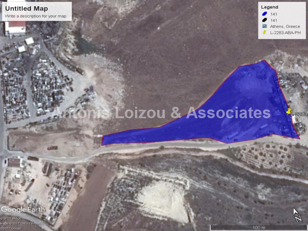 Field in Paphos (Agia Varvara) for sale