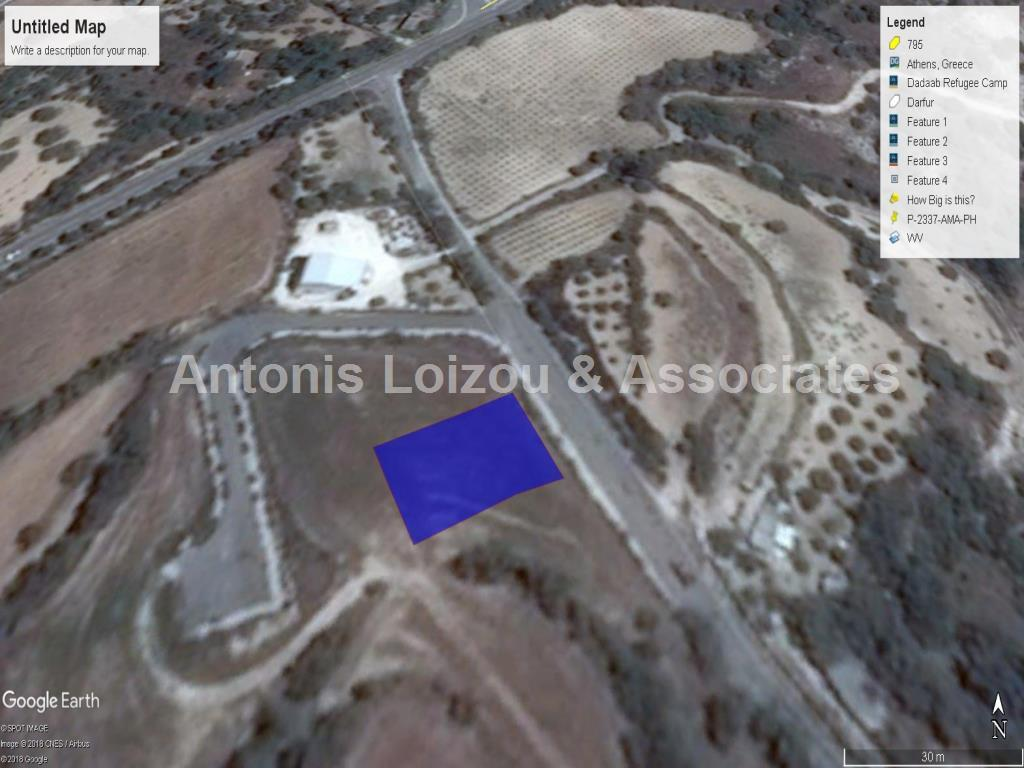 Land in Paphos (Amargeti) for sale