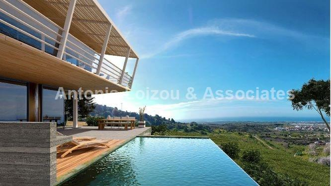 5 Bed Villa with Panoramic Sea Views in Armou properties for sale in cyprus