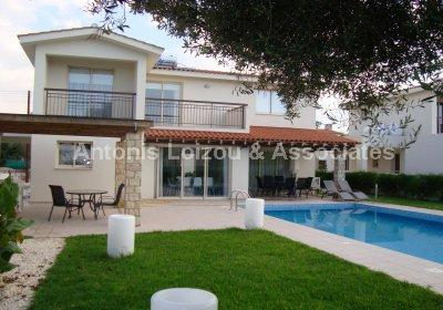 Four Bedroom Luxury Detached Villa properties for sale in cyprus