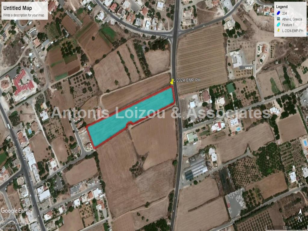 Field in Paphos (Emba) for sale