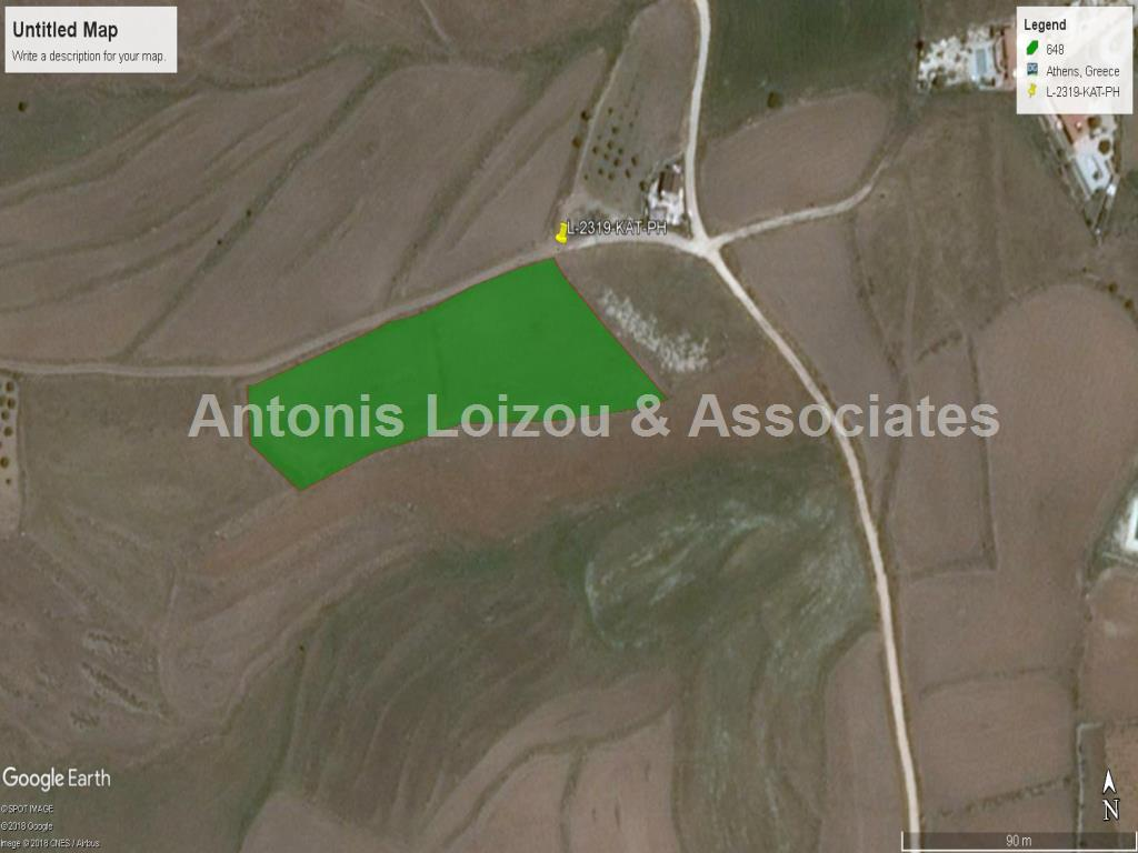 Field in Paphos (Kathikas) for sale