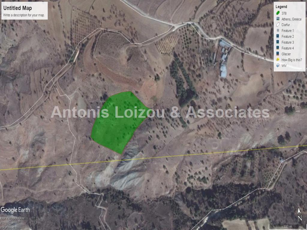 Field in Paphos (Kelokedara) for sale