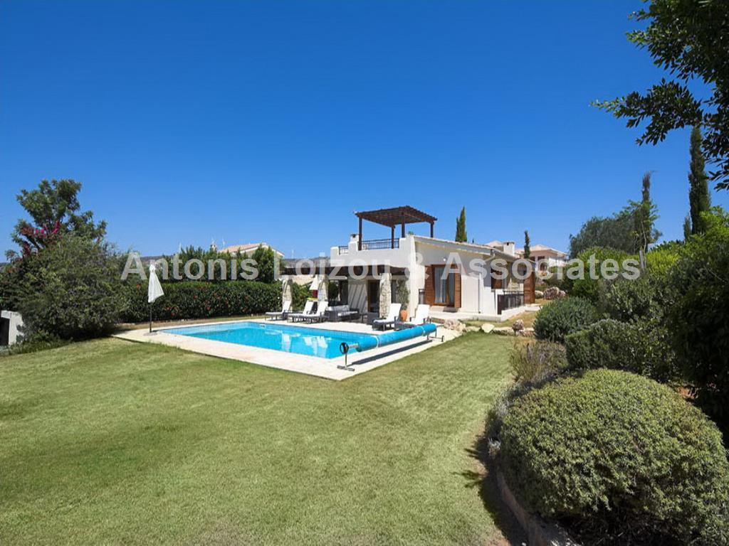 Luxury 3 Bed Detached Villa  Aphrodite Hills properties for sale in cyprus