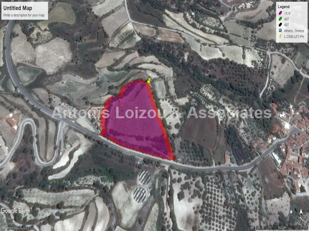 Land in Paphos (Letymbou) for sale