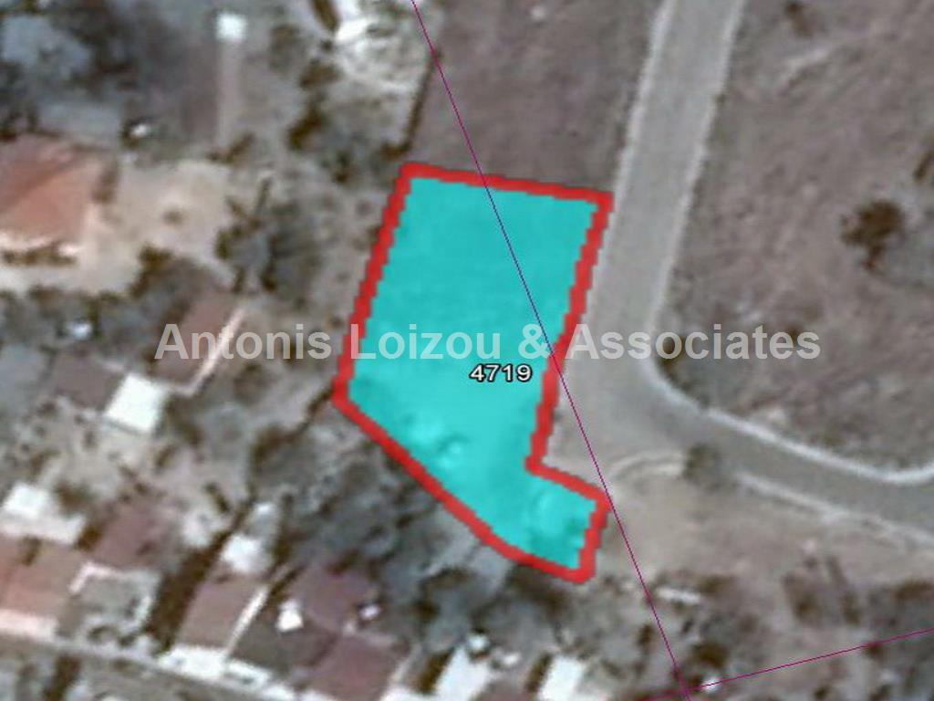 1,217 m² plot in Mouttalos with building plans  properties for sale in cyprus