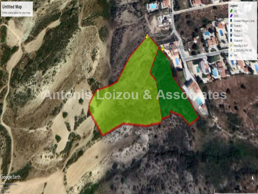 10,368 m² agricultural in Peyia with panoramic sea views. properties for sale in cyprus
