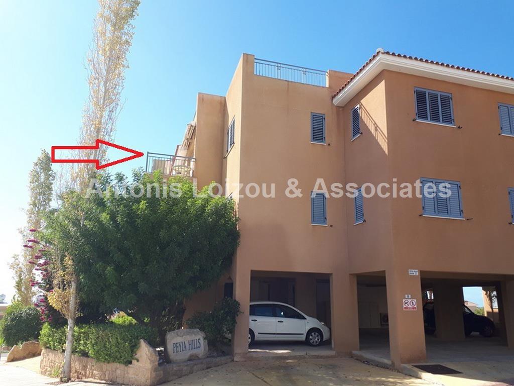 One Bed Apt Peyia Hills properties for sale in cyprus