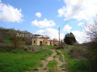 Three Bedroom Detached Stone Built Bungalow - REDUCED properties for sale in cyprus