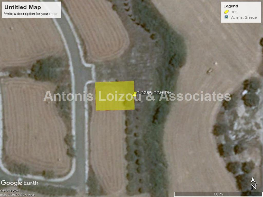 Plot at Polis Chrysochou 300 m² from the sea  properties for sale in cyprus