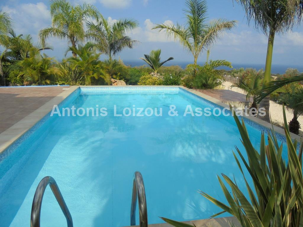 3 BED STUNNING POSITIONED VILLA ST GEORGE SEA VIEWS properties for sale in cyprus