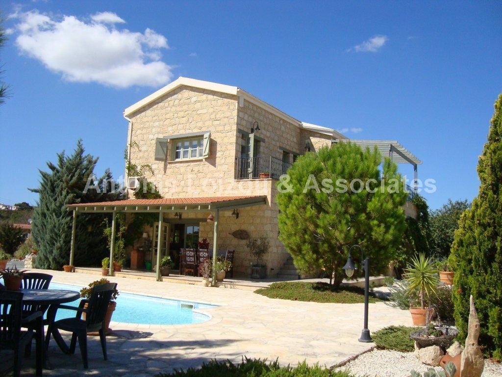 Detached Village in Paphos (Stroumbi) for sale