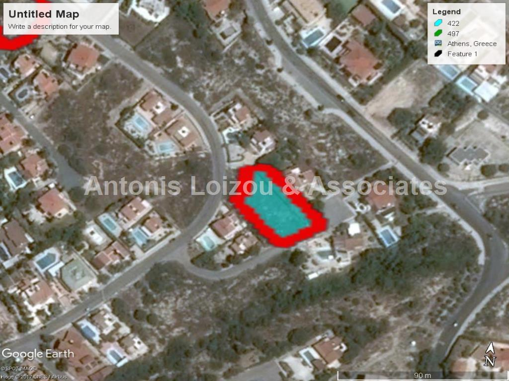 1,162 m² Residential plot in Tala with sea view  properties for sale in cyprus