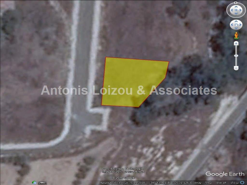 613 m² plot in Timi with sea view   properties for sale in cyprus